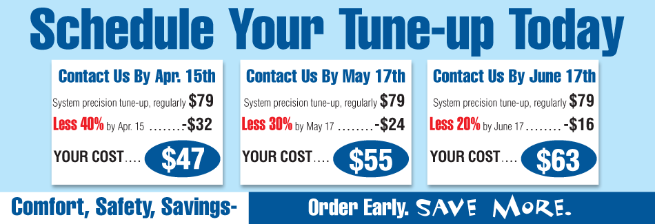 Schedule your Air Conditioning tune-up maintenance in Sheffield, AL today.
