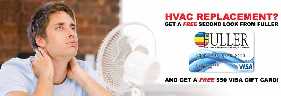 Win a $50 gift card with a second look at your AC installation in Florence AL.