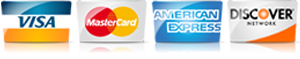 For AC repair service in Muscle Shoals AL, we accept most major credit cards.
