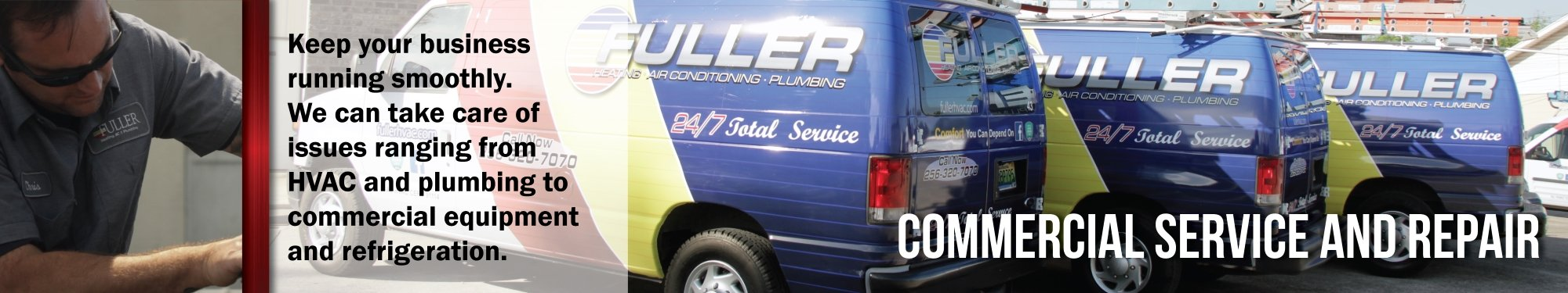 Fuller will take care of your commercial Furnace issues in Muscle Shoals AL